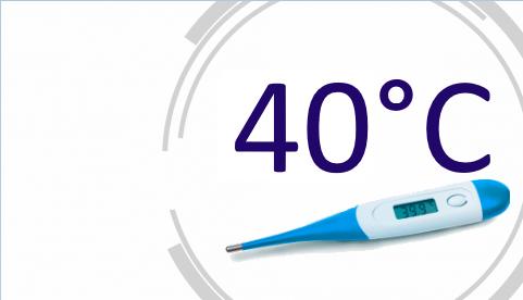 Температура 40