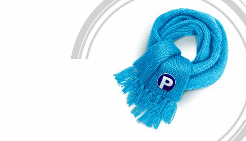 Носите шарф при боли в горле