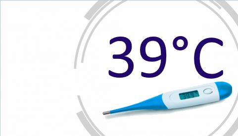 Температура 39