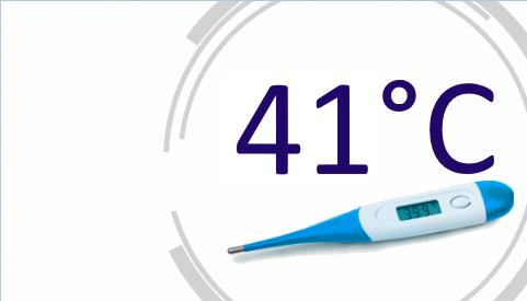 Температура 41