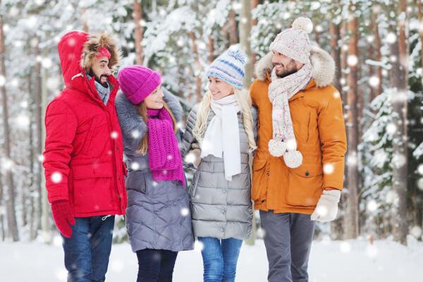Утепляйся с помощью теплой верхней одежды